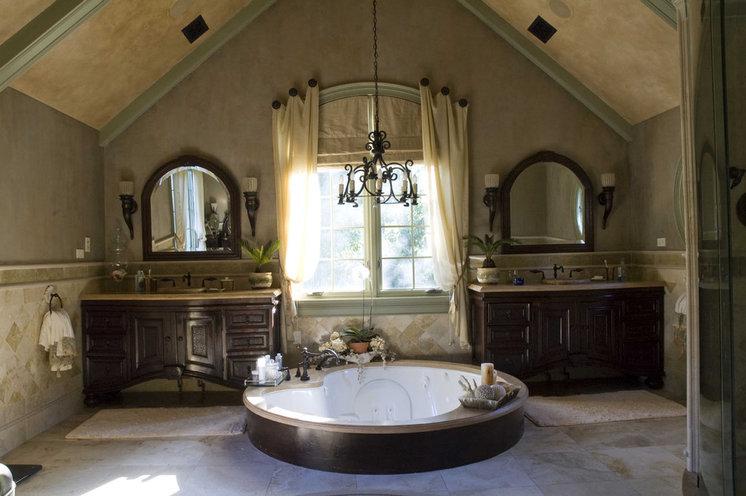 Mediterranean Bathroom by Letitia Holloway