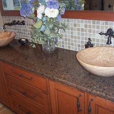 Mediterranean Bathroom by Renaissance Kitchen and Home