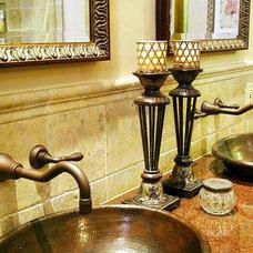 Mediterranean Bathroom by Springfield Design