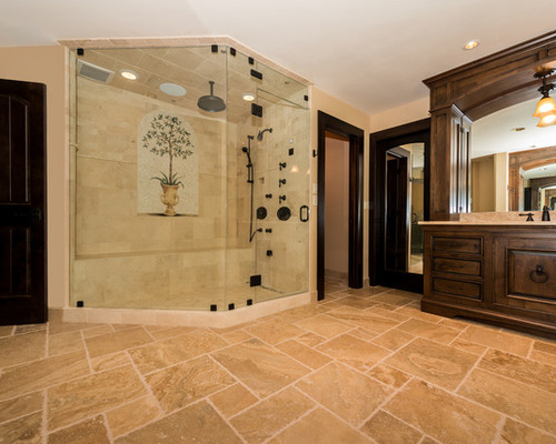 saveemail - Tuscan Bathroom Design