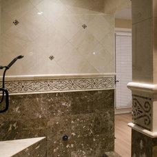 Traditional Bathroom by Hamilton-Gray Design, Inc.