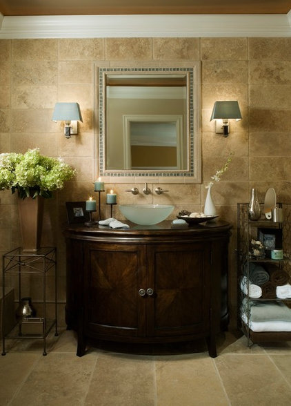 Eclectic Bathroom by Xstyles Bath + More