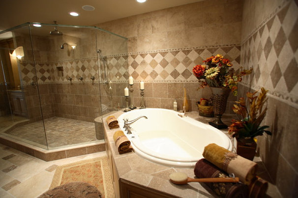 Traditional Bathroom by Michelle Miller Design, Inc.