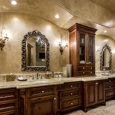 Mediterranean Bathroom by Stotler Design Group