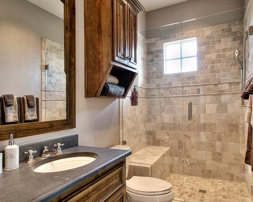 Carrelages brun 70s salle de bains ~ Solutions pour la décoration ...