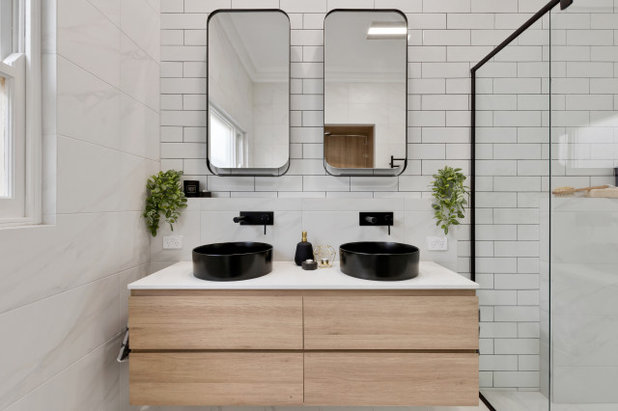Contemporary Bathroom by Creative Home Renovations