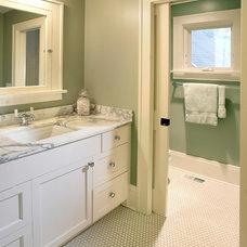 Craftsman Bathroom by Awad + Koontz Architects Builders
