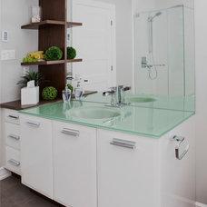 Contemporary Bathroom by Nouvelle Cuisine
