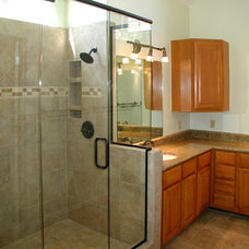 Traditional Bathroom by ProBilt Construction LLC