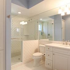 Tropical Bathroom by Progressive Builders, Inc.