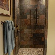 Traditional Bathroom by HoBart Builders, Inc.