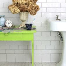 Traditional Bathroom by Barn Light Electric Company