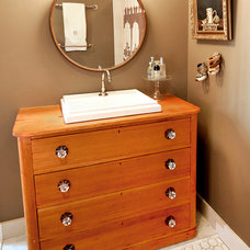 Traditional Bathroom by Landing Design & Development