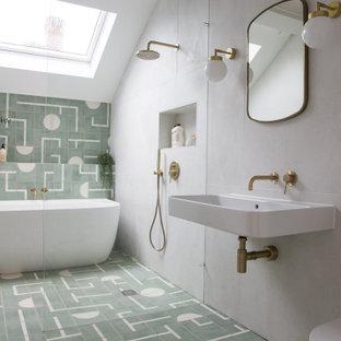 Contemporary bathroom in Dorset.