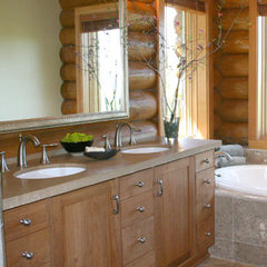 contemporary bathroom by marie glynn