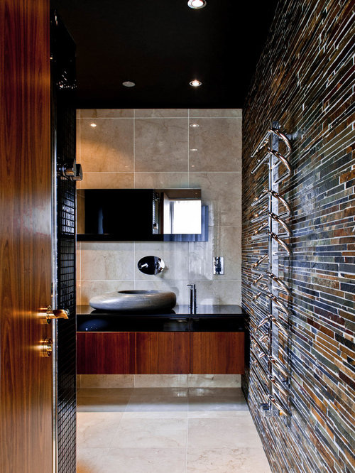 Scotland Bathroom Design Ideas Renovations Photos With Multi Coloured Walls