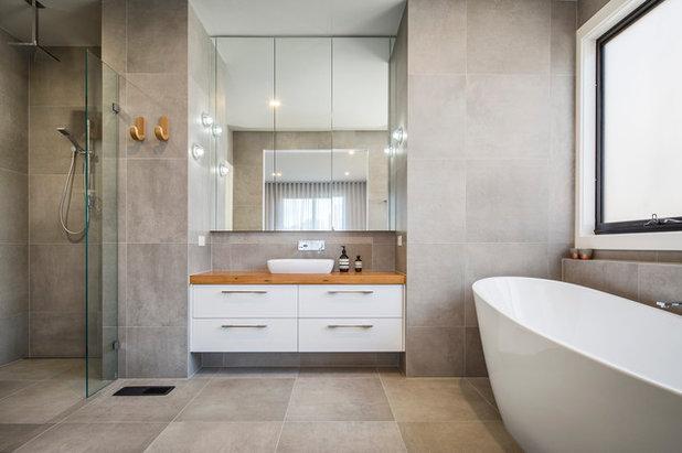 Contemporary Bathroom by Rycon Building Group