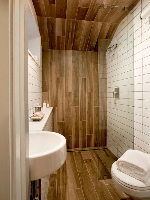 good perfect modelo de cuarto de bao con ducha minimalista pequeo con ducha a ras with azulejos baos modernos con ducha with azulejos baos - Azulejos Cuarto De Bao