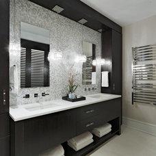 Transitional Bathroom by Luminosus Designs LLC