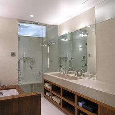 Modern Bathroom by Paul Cha Architect