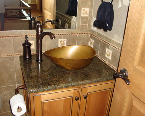 houzz  unique bathroom vanities design ideas  remodel pictures, Bathroom decor