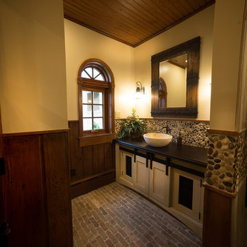 Unique Restoration of Heisey Horse Barn to Home