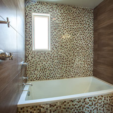 Contemporary Bathroom by Hudson Place Realty
