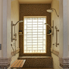 Traditional Bathroom by Rhonda Chen Interior Design Details