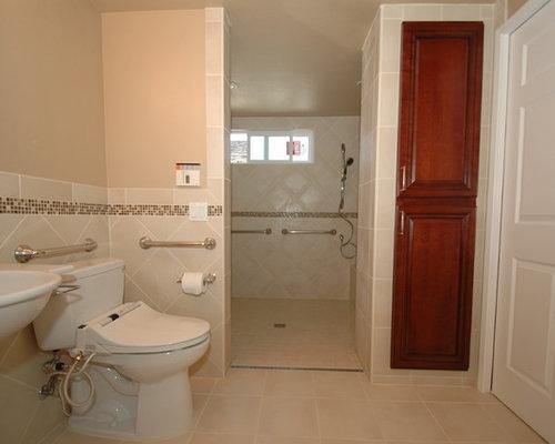 wheelchair accessible bath home design ideas renovations