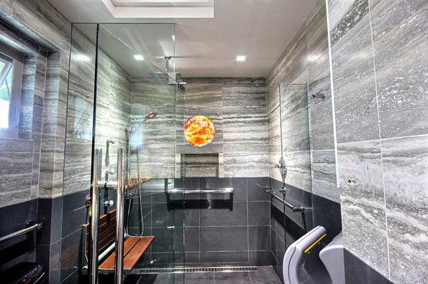 stunning cuarto de bao by by design builders with cuartos de bao con ducha de obra