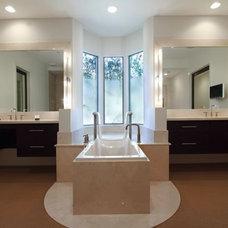 Contemporary Bathroom by Ernesto Garcia Interior Design, LLC
