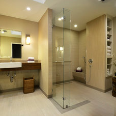Contemporary Bathroom by Tier1 Group, LLC