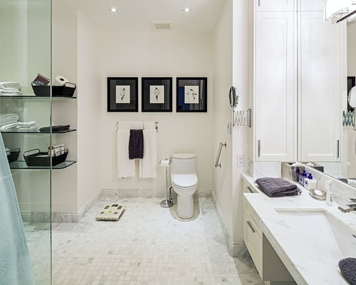 Wheelchair accessible bathroom houzz for Wheelchair accessible bathroom designs