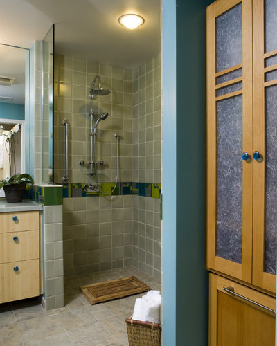 Contemporary Bathroom By Harrell Remodeling, Inc. Part 38