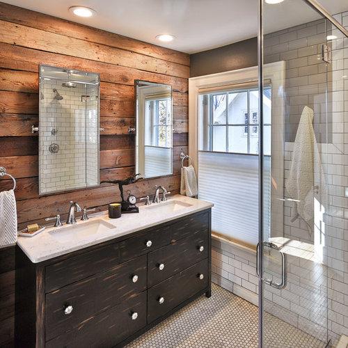 Gray Master Bathroom Ideas: Best Rustic Bathroom Design Ideas & Remodel Pictures