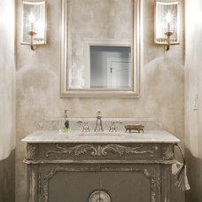 Traditional Bathroom by JD Smith Custom Homes