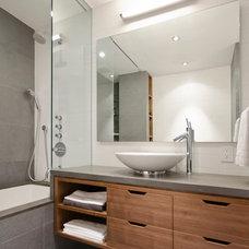 Modern Bathroom by StudioLAB, LLC