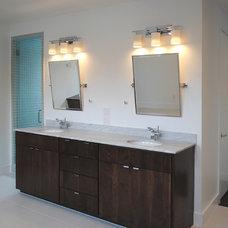 Contemporary Bathroom by Robert Sanders Homes
