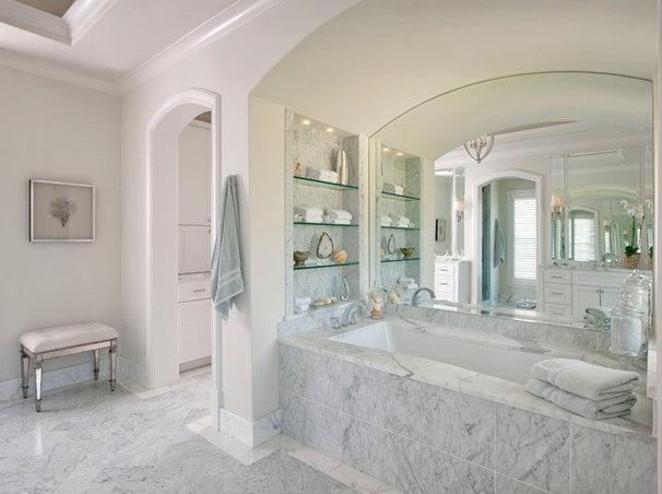 Traditional Bathroom by Ellen Grasso & Sons, LLC