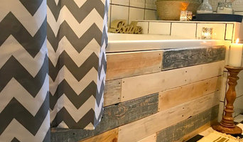 Upcycled Bathroom on a Budget