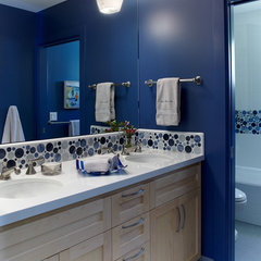 traditional bathroom by Pamela Pennington Studios