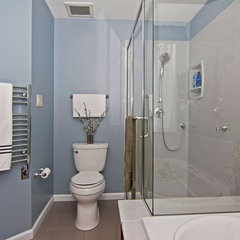 contemporary bathroom by Mosby Building Arts