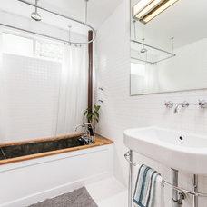 Farmhouse Bathroom by Exceptional Frames Photography