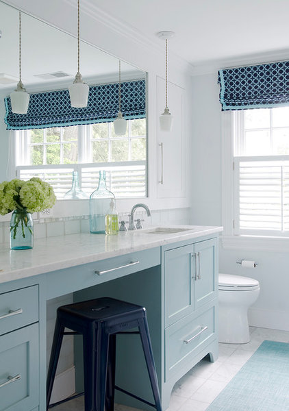 Beach Style Bathroom by Kristina Crestin Design