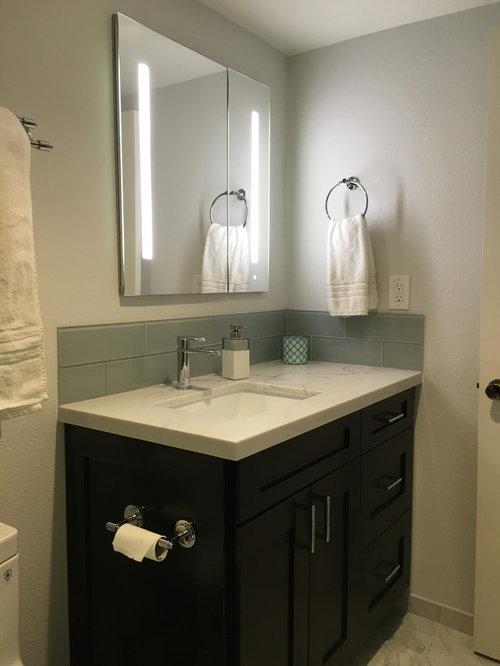 upland contemporary guest bathroom remodel
