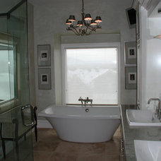 Traditional Bathroom by Markim Construction, LLC