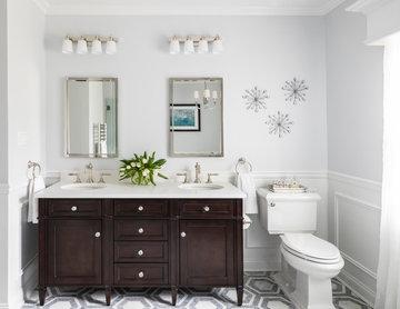 Upper Brookville Master Bathroom
