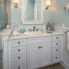 Beach Style Bathroom by Robert Kocis