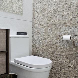 Fotos de baños | Diseños de baños blancos con paredes ...