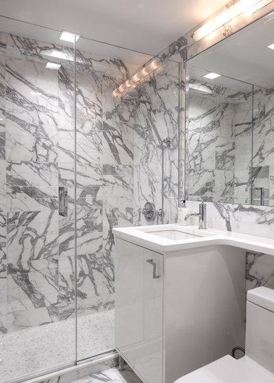 Contemporary Bathroom by B Moore Design, Inc.
